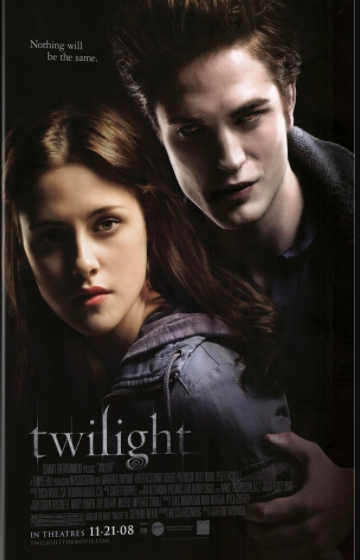 the Twilight movie poster