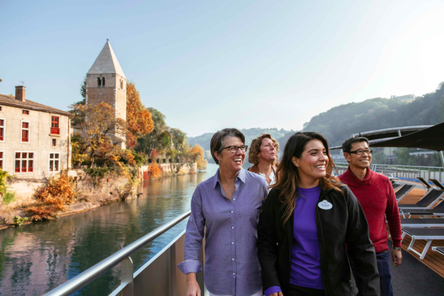 Adventures by Disney fall river cruise in Europe led by guide