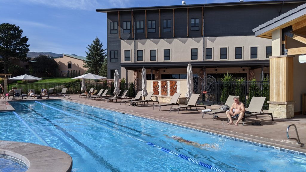 Garden of the Gods Resort pool.