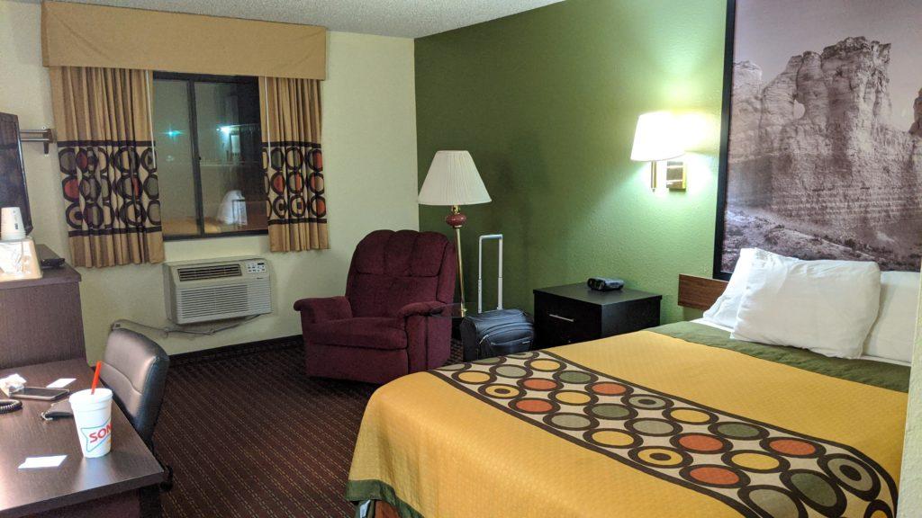 Super 8 Motel Room, Colby, Kansas