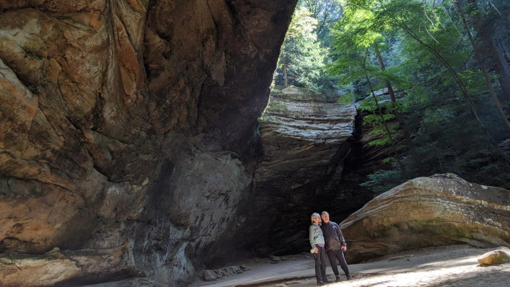 Ash Cave at Hocking Hills State Park.