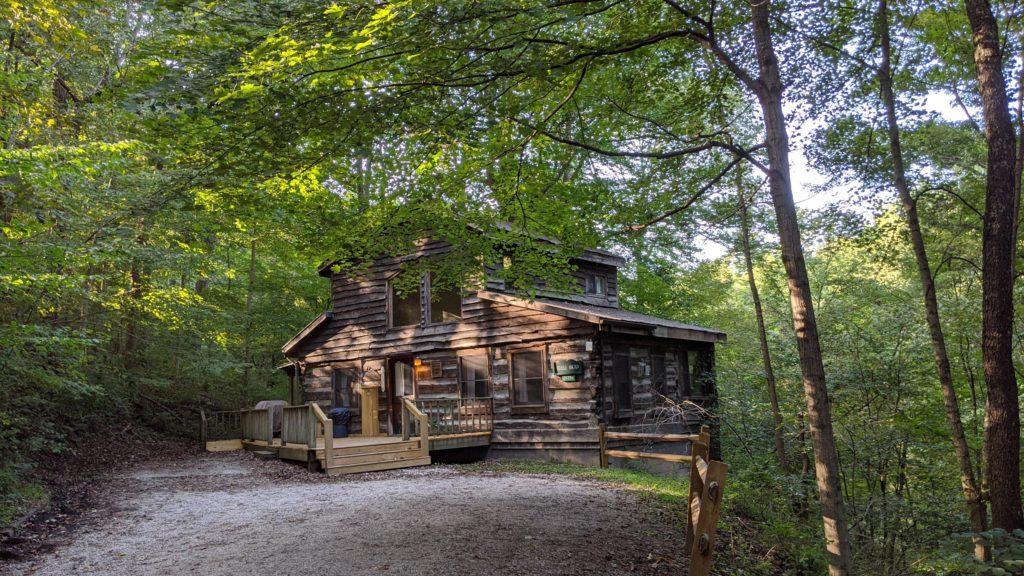 Two-bedroom Red Bud Cabin at Inn & Spa at Cedar Falls, Hocking Hills, Ohio
