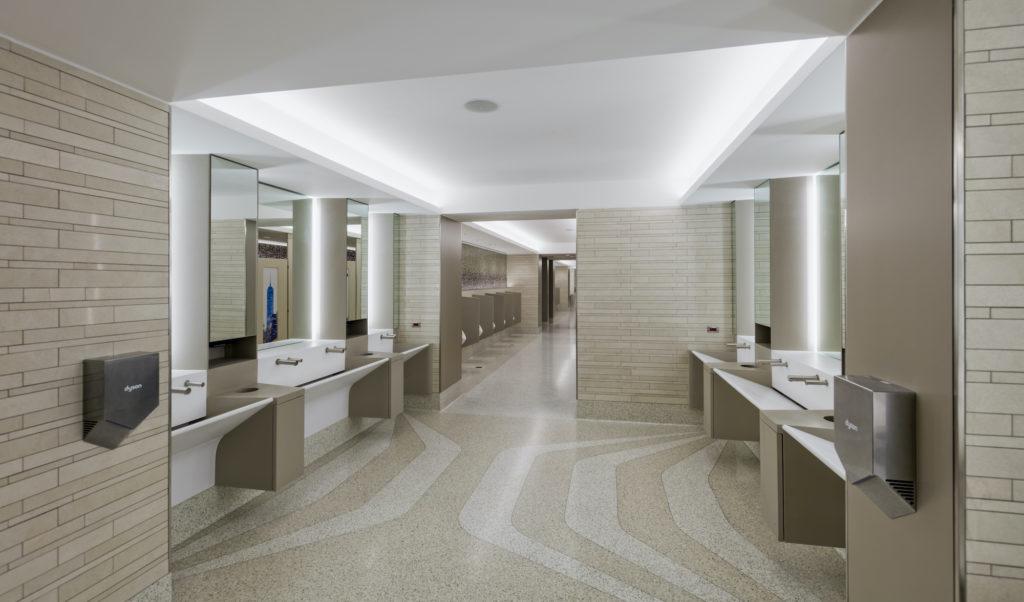 Restroom at LaGuardia Airport Terminal B
