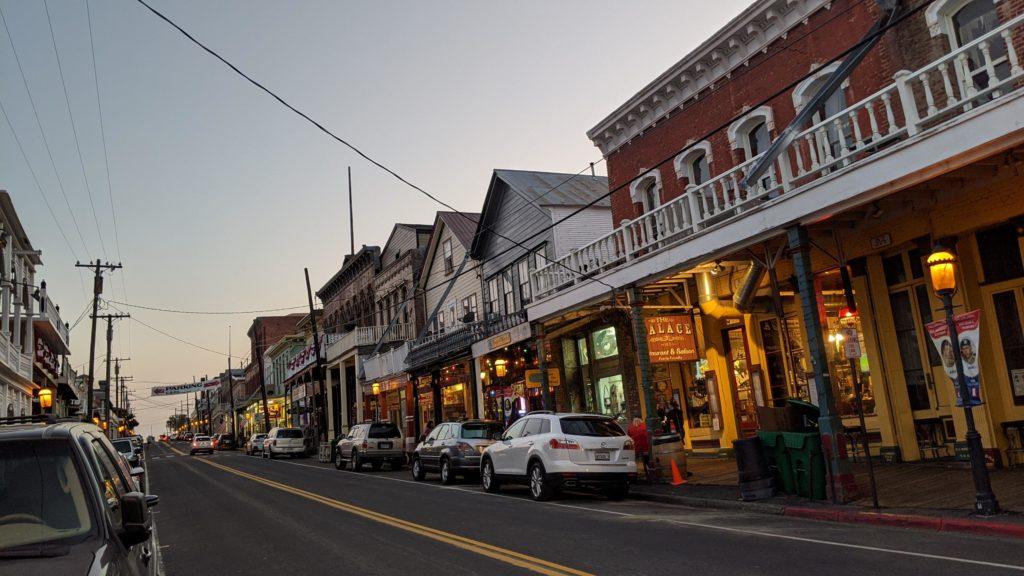 C Street in Virginia City
