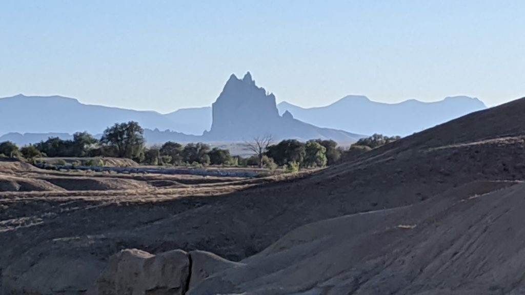 ShipRock in the Navajo Nation.