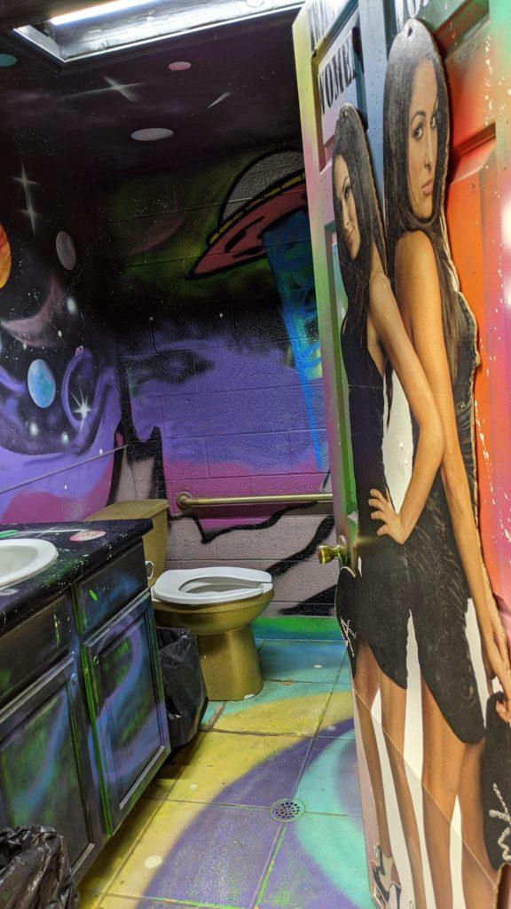Jackass Joe's Ladies Room.