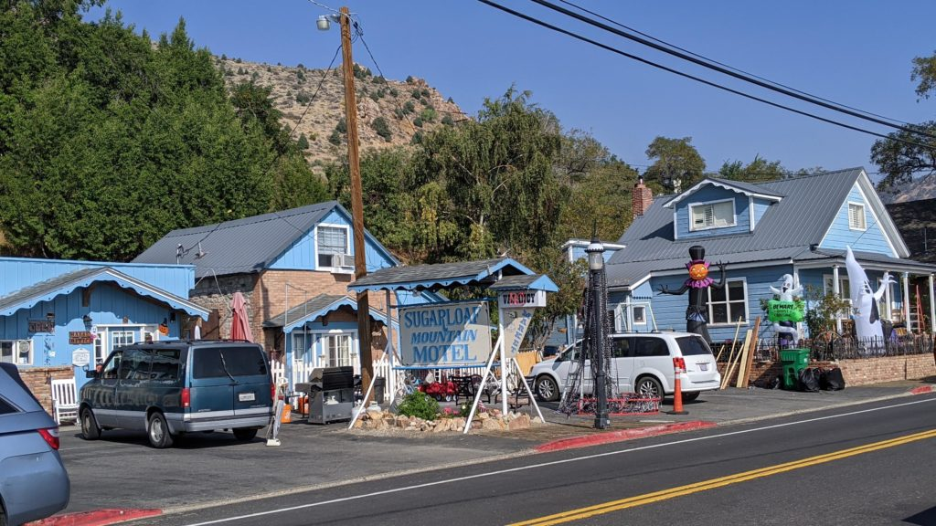 Sugarloaf Mountain Motel on C Street, Virginia City