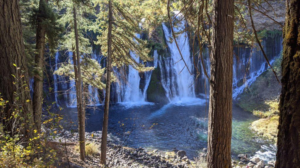 McArthur-Burney Falls Memorial State Park in Redding, California