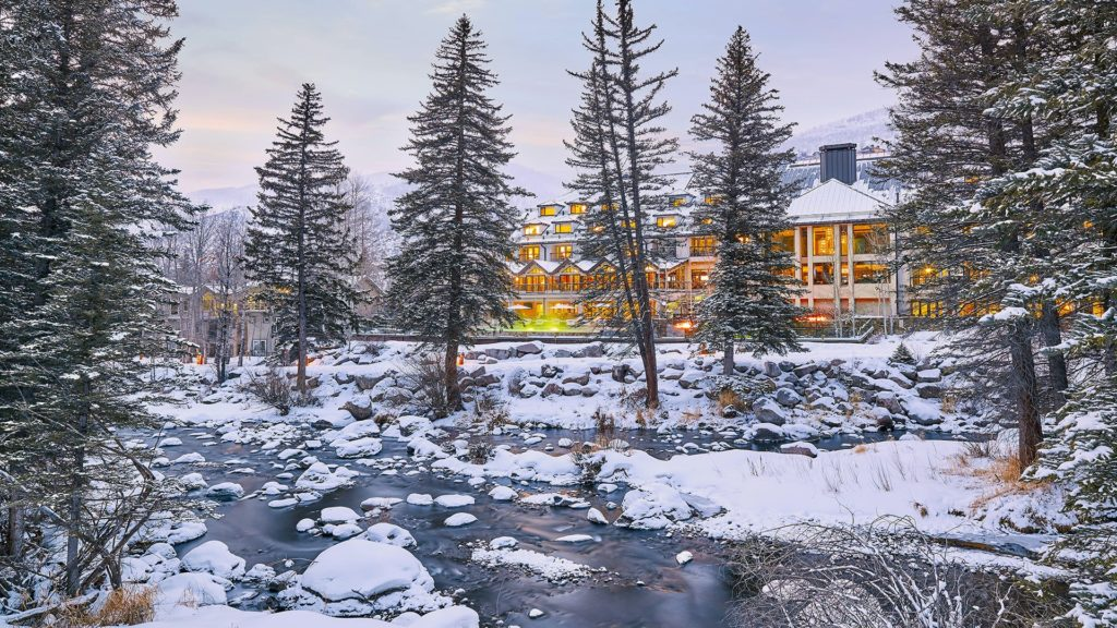 Grand Hyatt Vail Resort on Gore Creek.