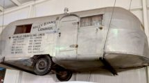 Wally Byam's camping trailer has traveled all around the world since 1948.