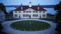 Mount Vernon, on the banks of the Potomac River, boasts beautiful landscaping at any time of year.