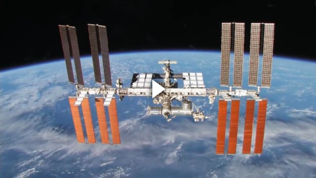 Image of the International Space Station from NASA Johnson Space Center