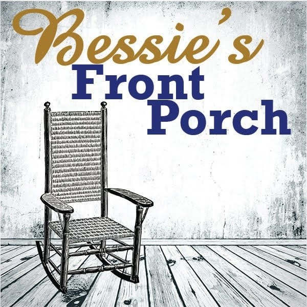 "Cover of ""Bessie's Front Porch,"" a reading by artists from the Bessie Smtih Cultural Center for Black History Month."