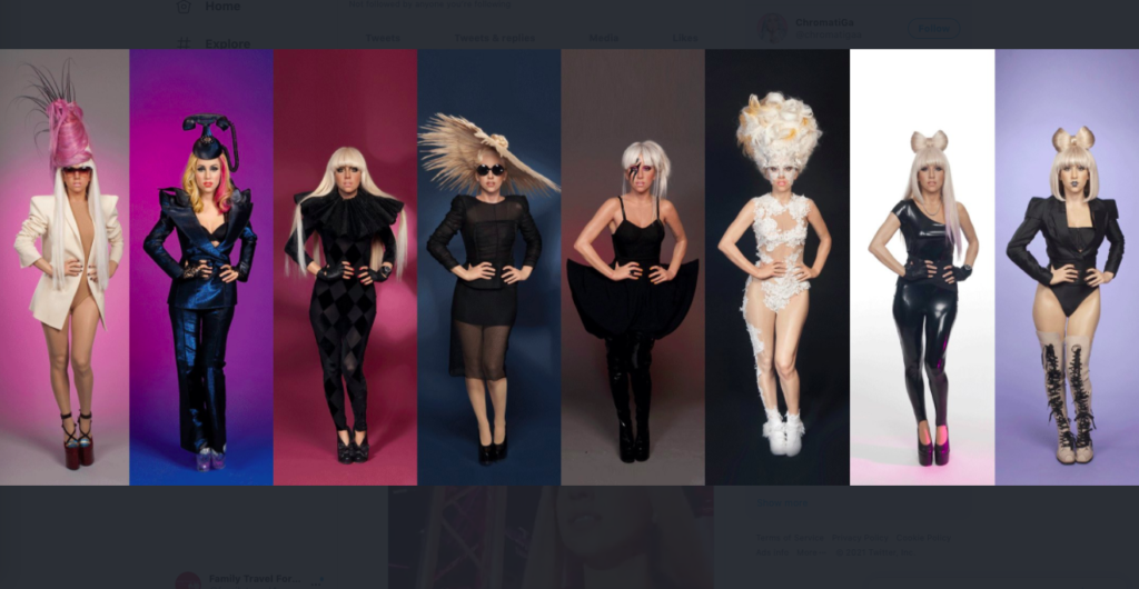 Eight wax statues of Lady Gaga featured at eight Madame Tussaud's Wax Museums each boast a different outfit.