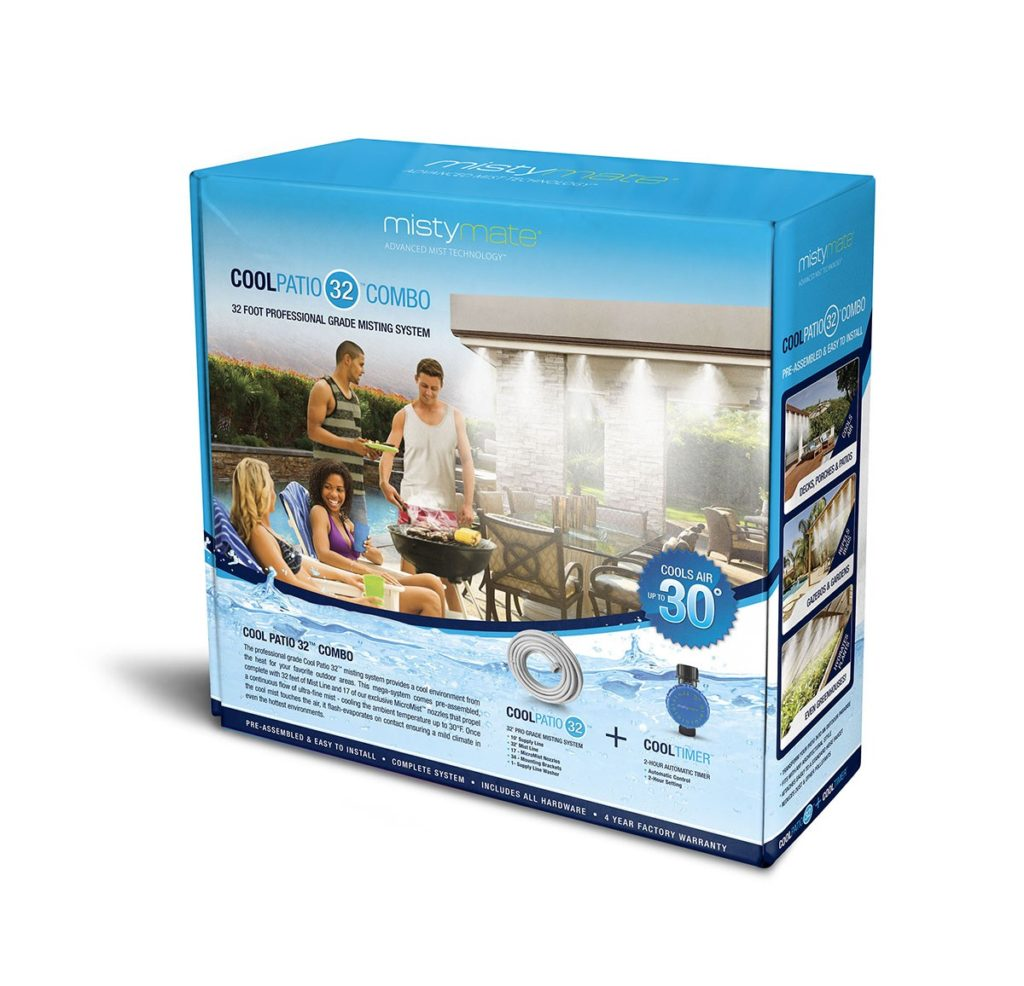 The Cool Patio Mistymate Misting System Box