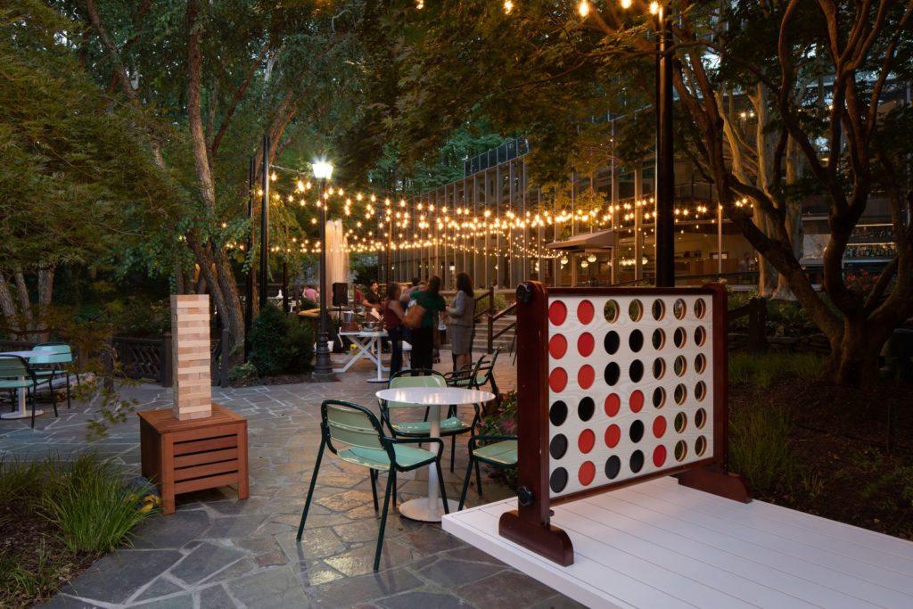 Parkwoods Bar and The Backyard in Dunwoody Georgai