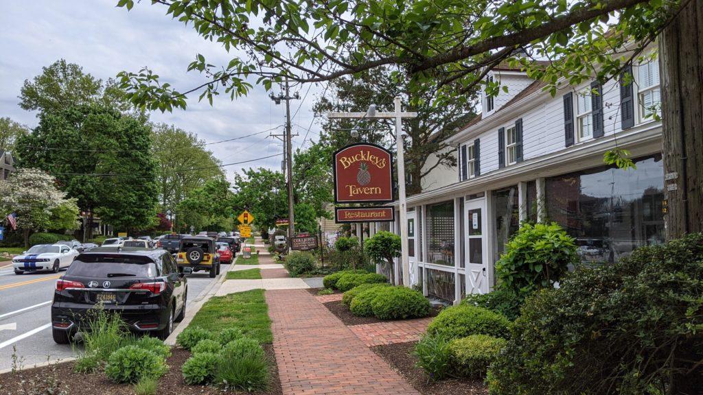 Buckley's Tavern exterior in Wilmington, Delaware.
