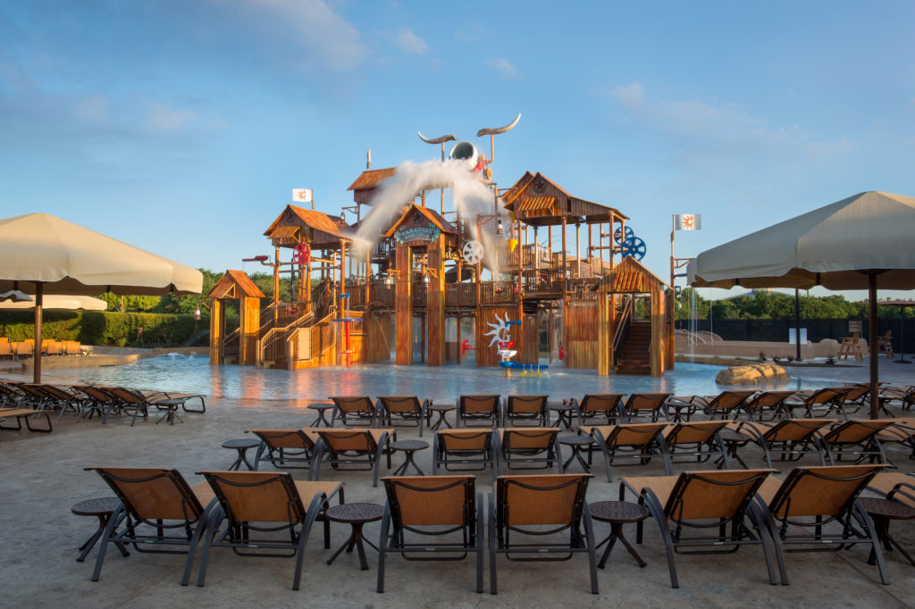 You can beat the heat at the Gaylord Texan Paradise Springs waterpark.