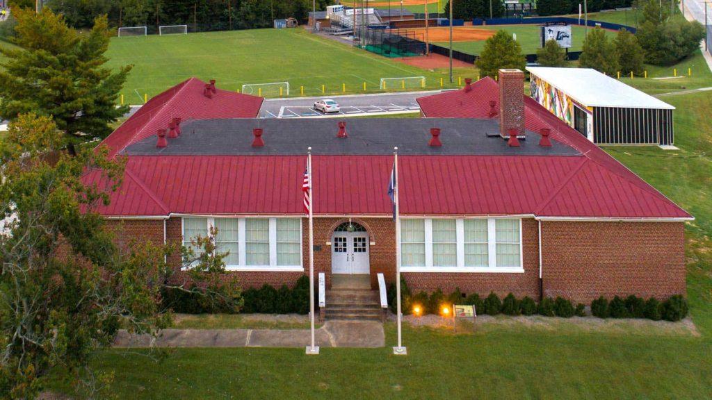 Robert Russo Moton High School in Farmville, Virginia