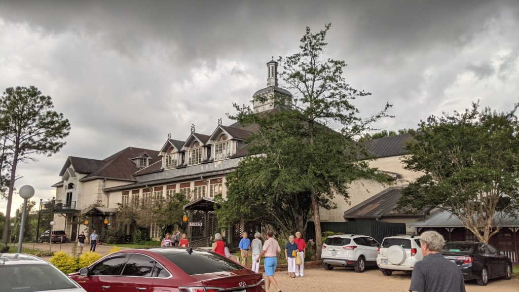 The Round Top Festival Insitute concert hall in Texas.