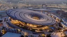 Aerial view of the Sustainability Pavilion at Dubai World Expo 2020