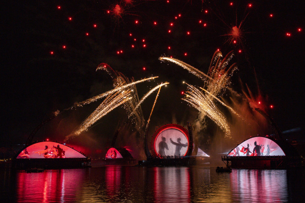 "The ""Harmonious"" fireworks show at Epcot."