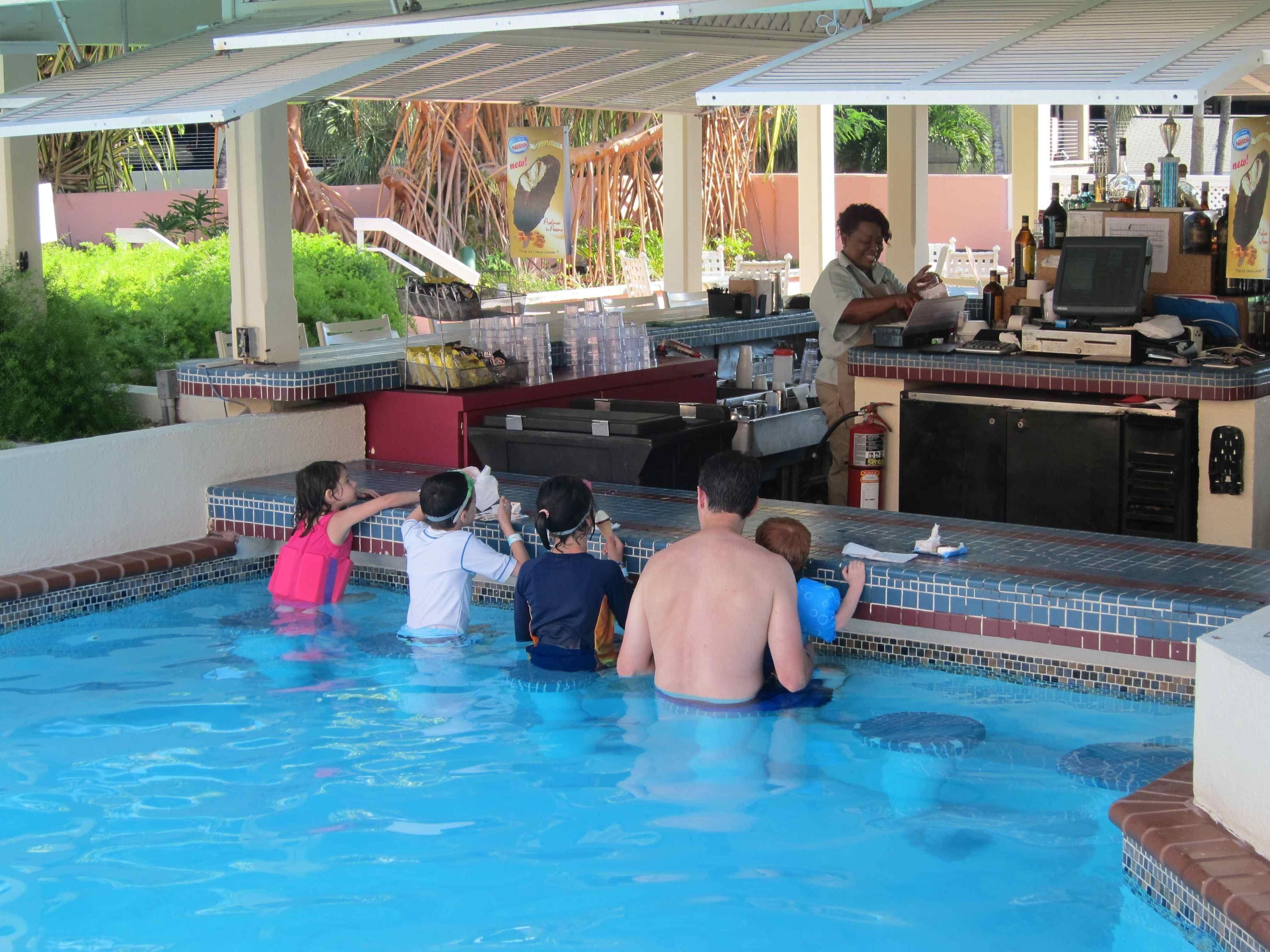 The Swim Up Bar At Comfort Inn U0026 Suites Is Very Popular.