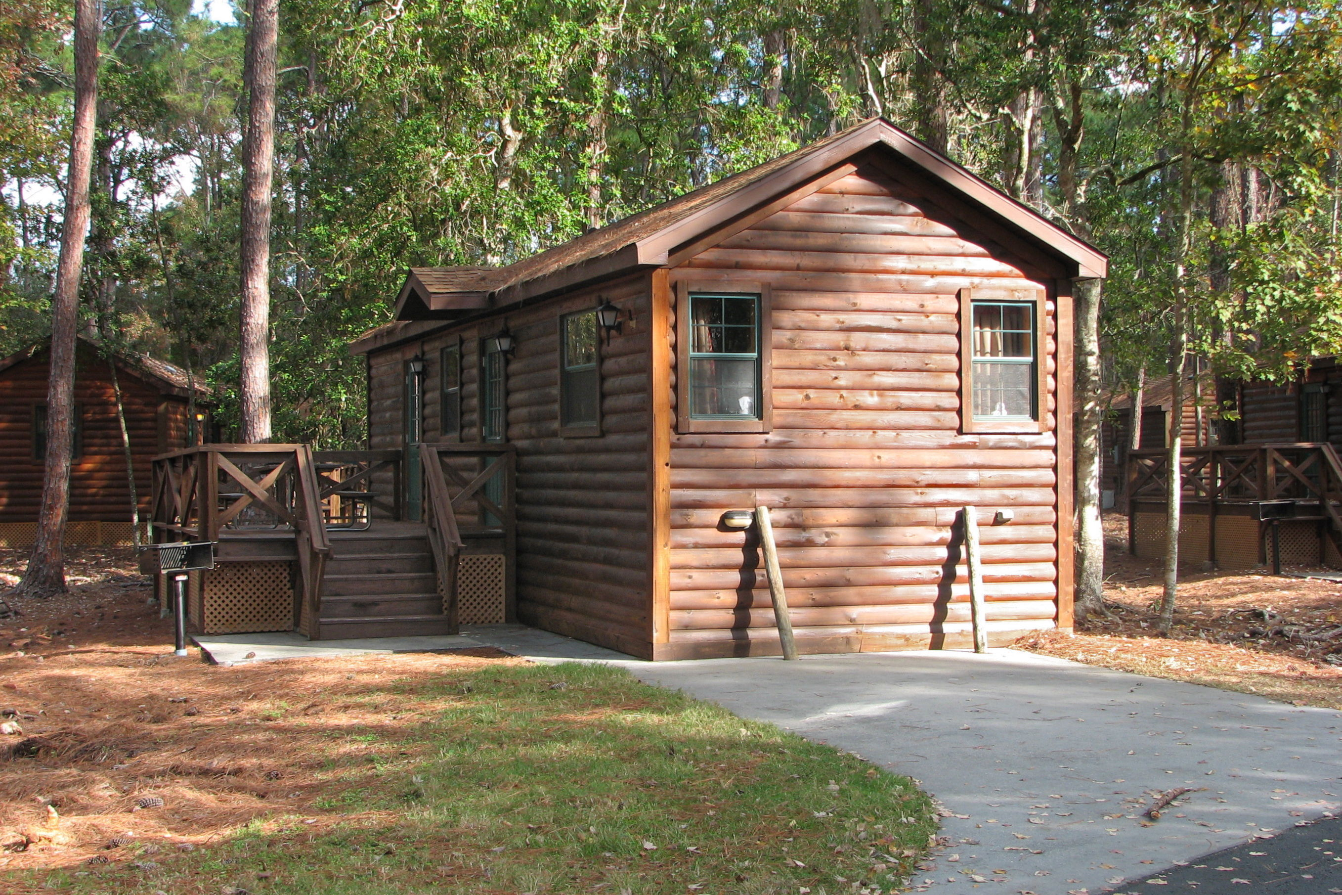 Disney world value hotels and camping for Wilderness cabin plans