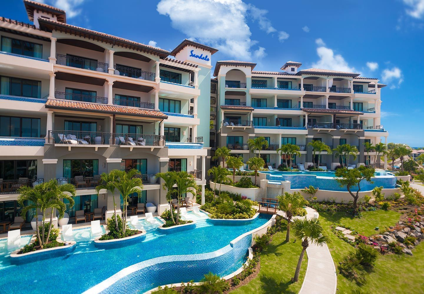 Sandals Lasource Is One Of Grenada S Leading Resorts For Those Traveling With Family
