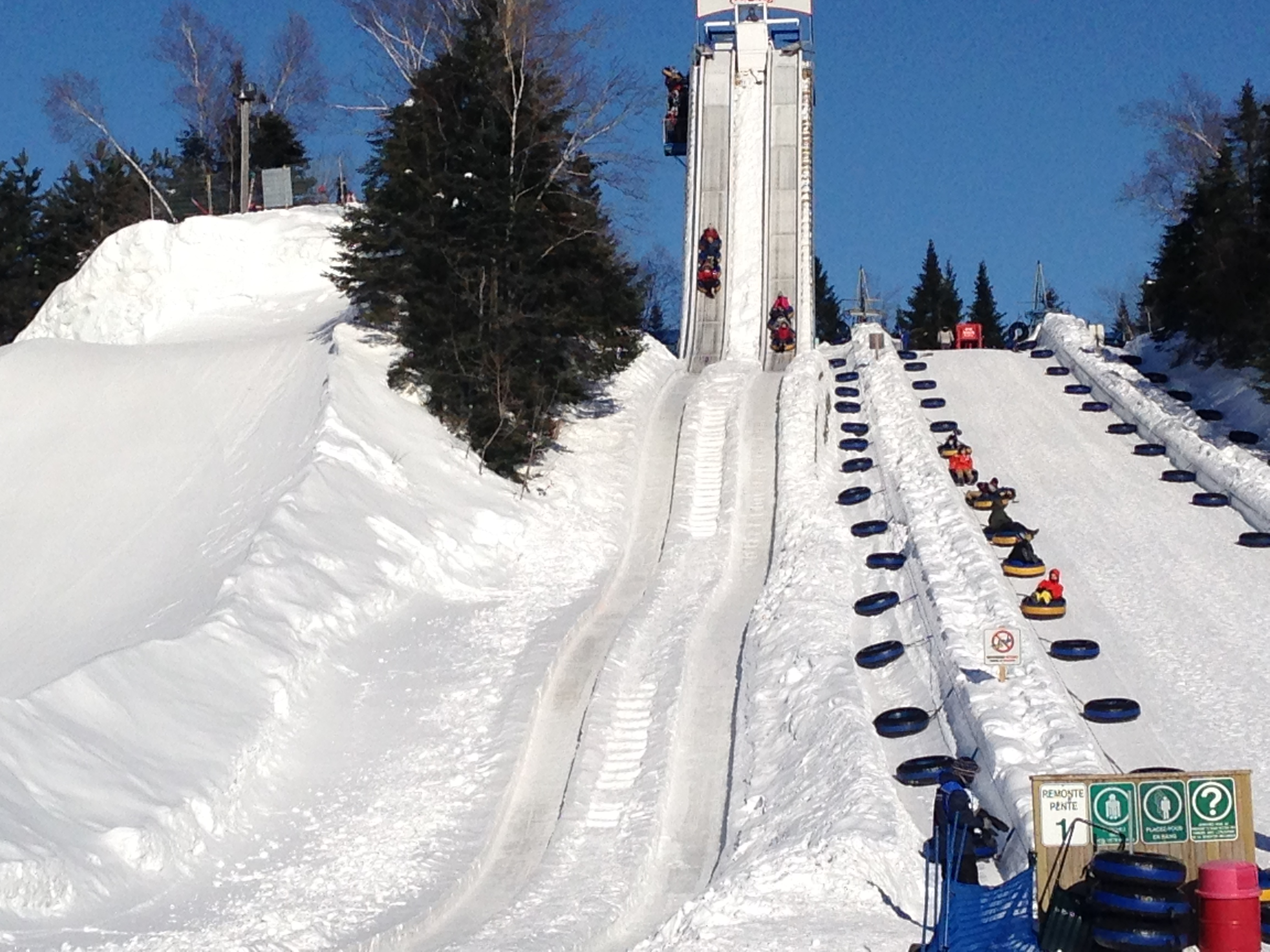 Snow Thrills At Valcartier Vacation Village In Quebec My