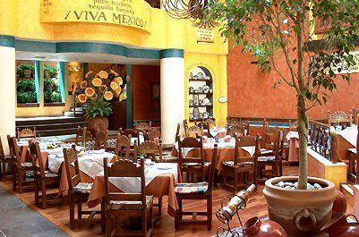 Villa Maria Dining Room In Mexico City