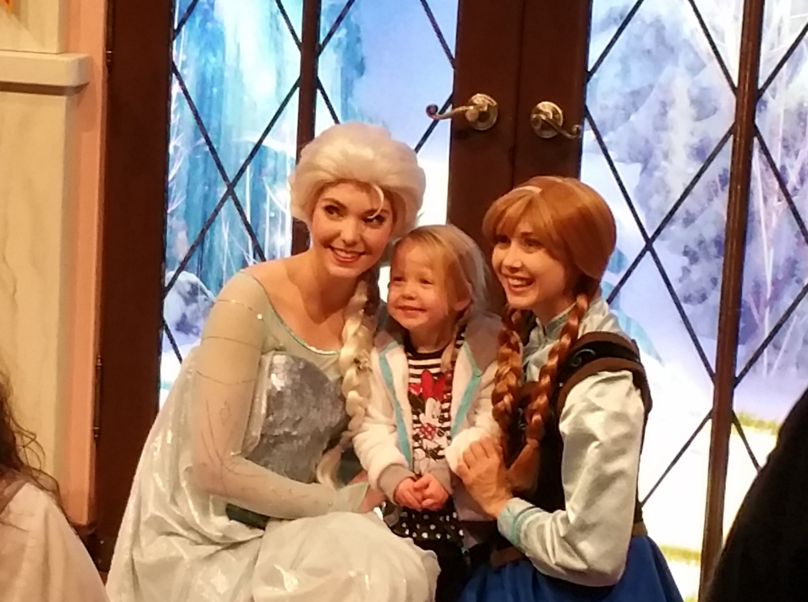 Whats new at disneyland and california adventure themeparks cool off during a meet ngreet with queen elsa and princess anna of frozen disneyland m4hsunfo