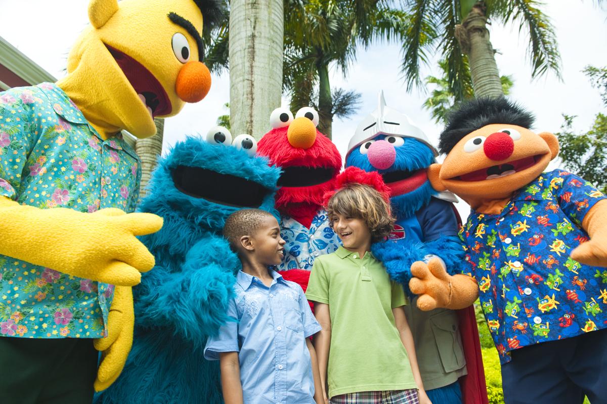 Sesame Street Beaches Resort