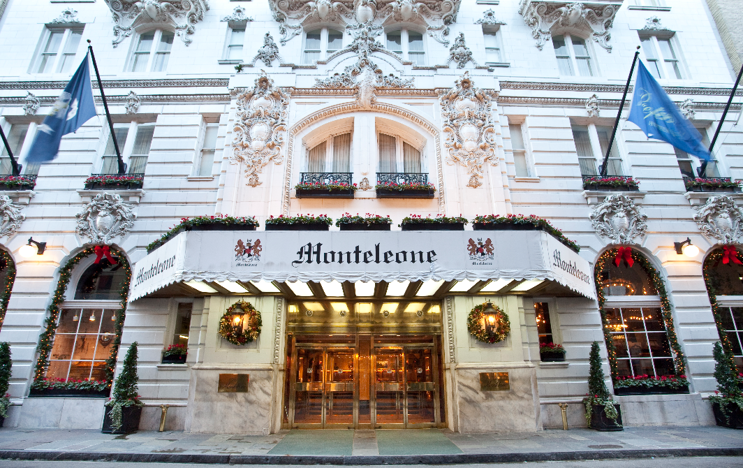 The Clic Hotel Monteleone In French Quarter