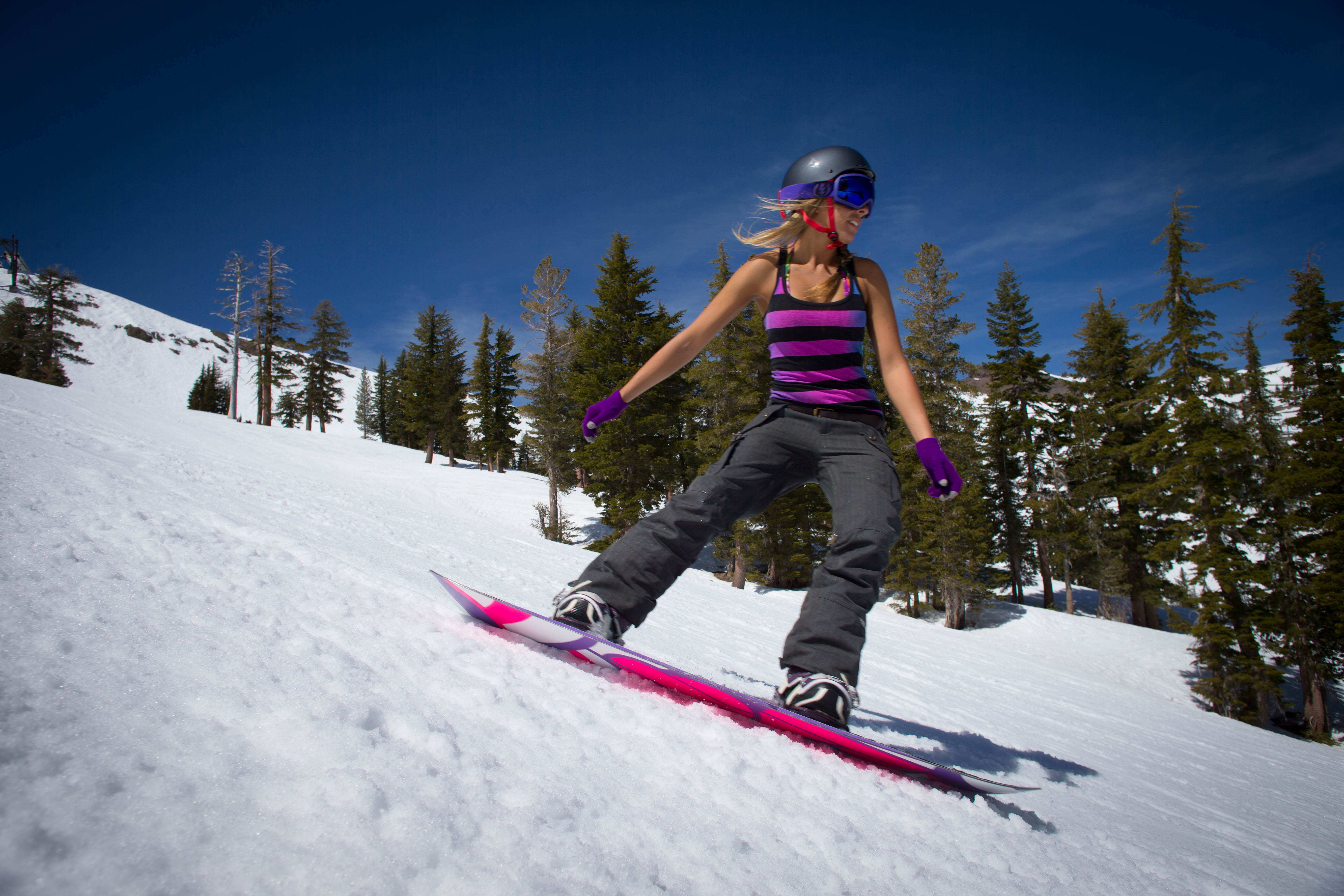 Squaw Alpine at Lake Tahoe Does Spring Skiing Right