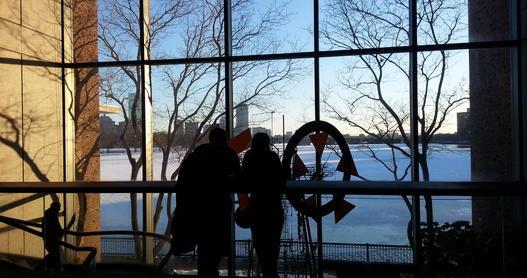 Boston, Museum of Science lobby.
