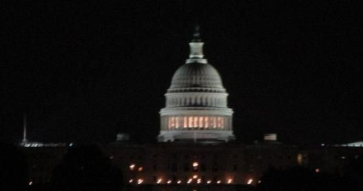 The Capitol Building at Night, Washington, DC