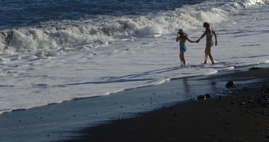 Kalapana Beach, Big Island