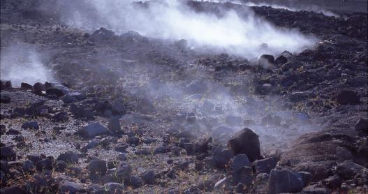 Lava Flow, Volcanoes National Park, Big Island