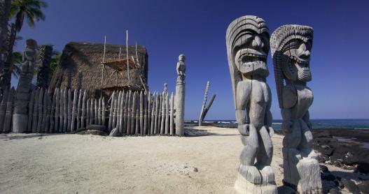 Puuhonua o Honaunau - The City of Refuge on the Big Island