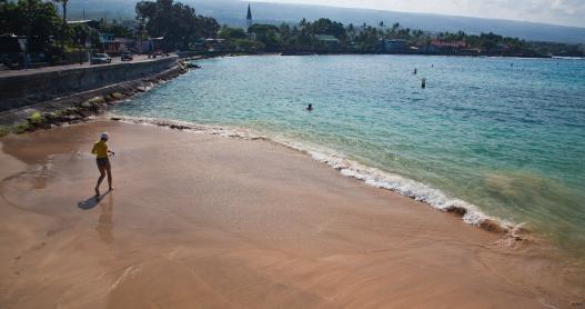 Sand Beach, Big Island
