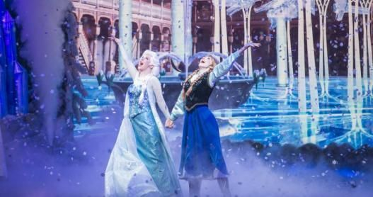 Frozen Live Sing a Long show at Disney World.