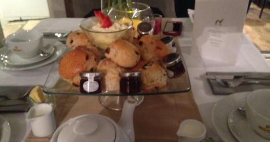 Dorset Cream Tea: Scones, Clotted Cream and Strawberry Jam