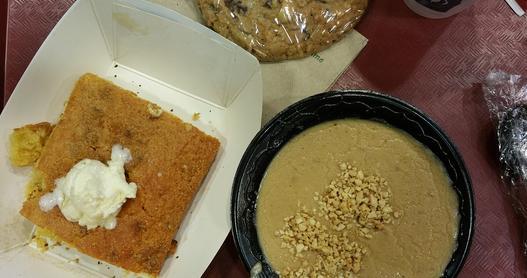 Peanut soup served at Jamestown Settlement, Virginia.