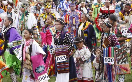 Plains Indian Museum PowWow by the Buffalo Bill Center of the West; photo: Ken Blackbird