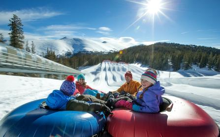 snowtubing at Keystone Mountain Resort, Colorado