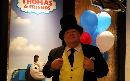 Sir Topham Hat at the New York Hilton Midtown