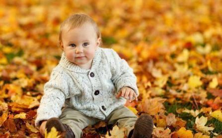 Bring baby along to pick apples and play in the leaves