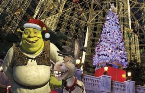 Lone Star Christmas with Shrek and Family at Gaylord Texan Resort ...