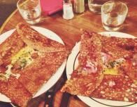 Savory Parisian Crepes, or 'Galettes'